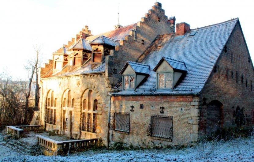 Schloss Thalstein im Winter